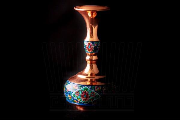 Burnish Turnip Vase