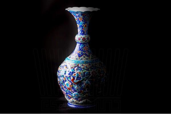 Enameling  Vase & Plate GoloMorq 25