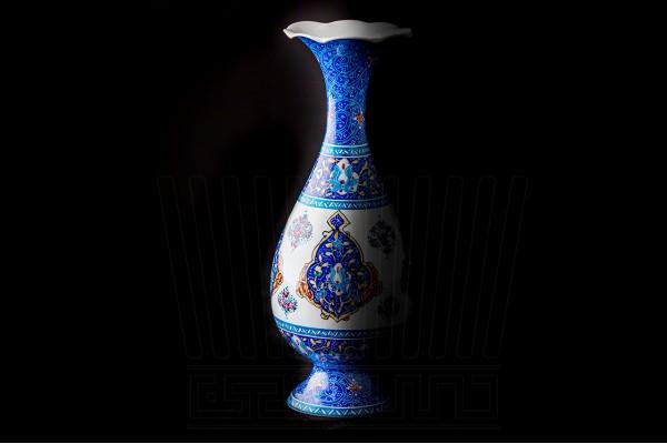 Enameling  Vase & Plate Toranj 25