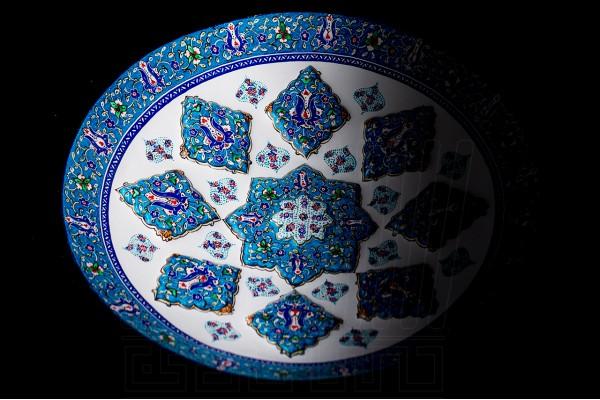 Enameling Vase & Plate Toranj 30