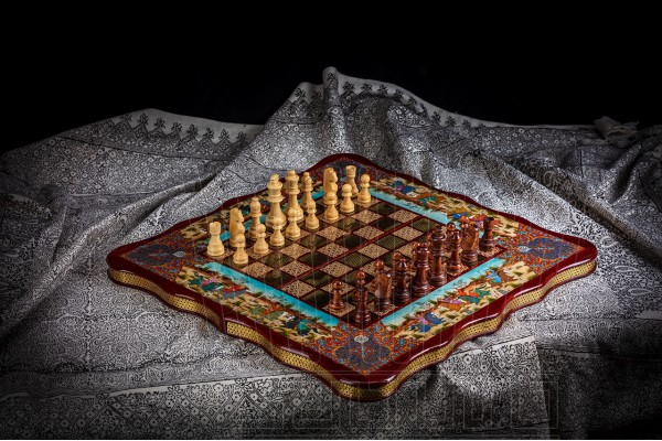 Inlay Backgammon & Chess: Chogan