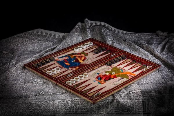 Inlay Backgammon & Chess: Face