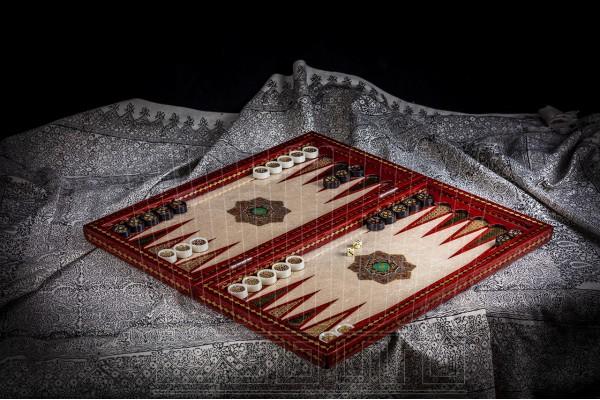 Inlay Backgammon & Chess: Slimy