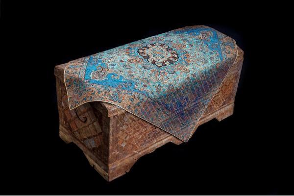 Turquoise Sorahi Vase