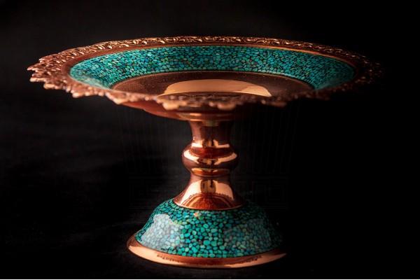 Turquoise Sweet Dish