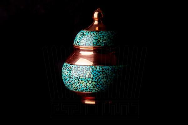Turquoise Tea Set